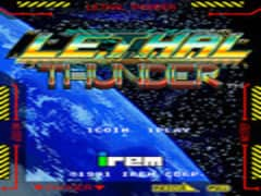 Free Play Lethal Thunder (World) Mame Online any web browser