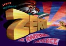 Free Play Zero the Kamikaze Squirrel Genesis Online any web browser