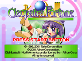 Free Play Cleopatra's Fortune Playstation Online any web browser